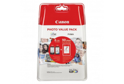 Canon originálna cartridge PG-545 XL/CL-546 XL + 50x GP-501, black/color, 8286B006, Canon Pixma MG2450, 2555, MX495, Promo pack
