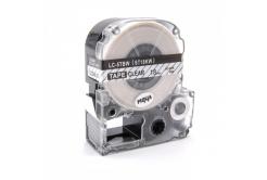 Epson LC-ST18KW, 18mm x 8m, černý tisk / průhledný podklad, kompatibilní páska
