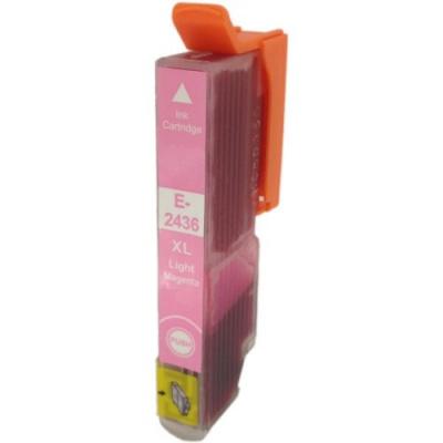 Epson T2436 XL svetle purpurová (light magenta) kompatibilná cartridge