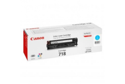 Canon CRG-718 azúrový (cyan) originálný toner