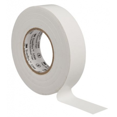 3M Temflex 1500 Elektroizolační páska, 15 mm x 10 m, bílá