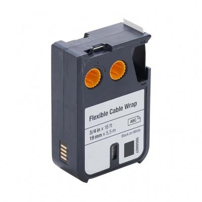 Kompatibilná páska s Dymo 1868807, 19mm x 5,5m, čierna tlač/biely podklad
