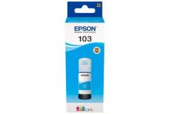 Epson originálna cartridge C13T00S24A, 103, cyan, 65ml, Epson EcoTank L3151, L3150, L3111, L3110