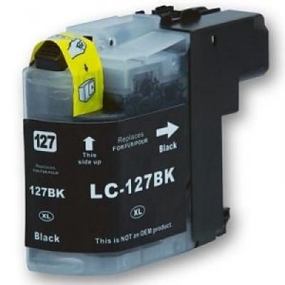 Brother LC-127XL čierna (black) kompatibilná cartridge