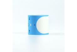 Brother PT-W260BU, 35mm x 260mm, 100ks, černý tisk / modrý podklad, kompatibilní role etiket - narámek, kompatibilní páska