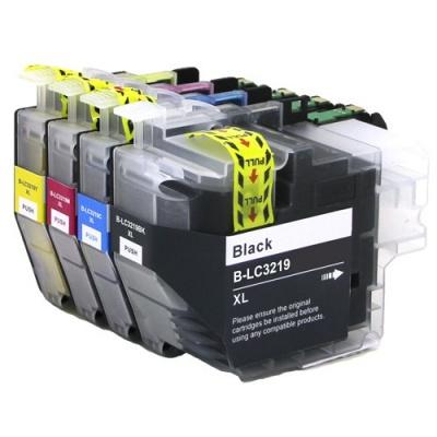 Brother LC-3217XL / LC-3219XL multipack kompatibilní cartridge