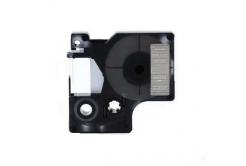 Kompatibilná páska s Dymo 40920, 9mm x 7m, biela tlač / priehľadný podklad
