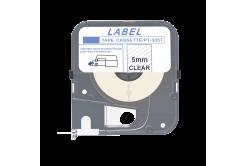 Max LM-305T, 5mm x 8m, průhledná kompatibilní páska