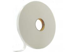 3M 9529W Oboustranně lepicí pěnová páska, bílá, 25 mm x 3 m