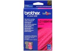 Brother LC-1100HYM purpurová (magenta) originálna cartridge