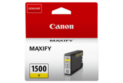 Canon originálna cartridge PGI-1500 Y, yellow, 300 str., 4.5ml, 9231B001, Canon MAXIFY MB2050,MB2150,MB2155,MB2350,MB2750,MB2755