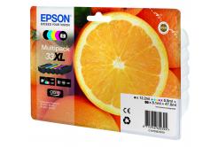 Epson originálna cartridge C13T33574011, T33XL, CMYK, 12,2/3x8,9/8,1ml, Epson Expression Home a Premium XP-530,630,635,830
