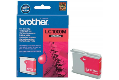 Brother LC-1000M purpurová (magenta) originálna cartridge