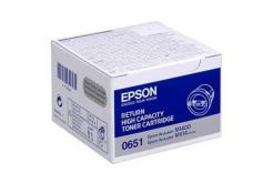 Epson C13S050651 čierný (black) originálny toner