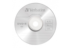 DVD-R Verbatim 4,7GB 16x SPINDL