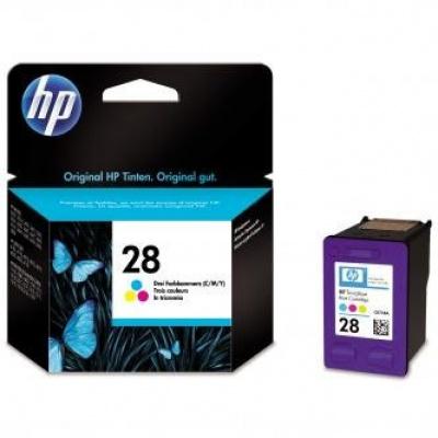 HP 28 C8728AE barevná originální cartridge, prošlá expirace