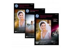 """HP Premium Plus Glossy Photo Paper, foto papír, lesklý, bílý, 13x18cm, 5x7"""", 300 g/m2, 20"""
