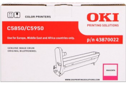 OKI 43870022 purpurový (magenta) originálna valcová jednotka