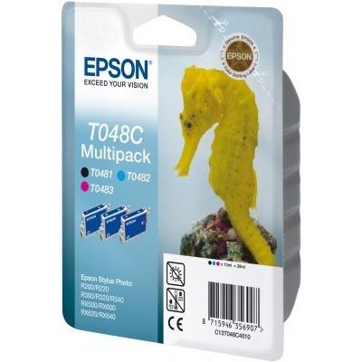 Epson T048C40 T048C multipack originálna cartridge