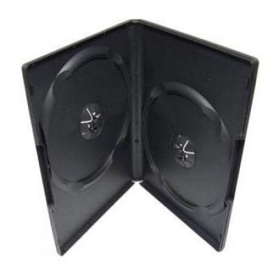 BOX na 2 DVD čierný