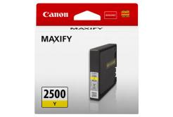 Canon originálna cartridge PGI-2500 Y, yellow, 9.6ml, 9303B001, Canon MAXIFY iB4050,iB4150,MB5050,MB5150,MB5350,MB5450