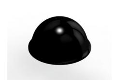 3M Bumpon SJ5027 černý, plato= 40 ks