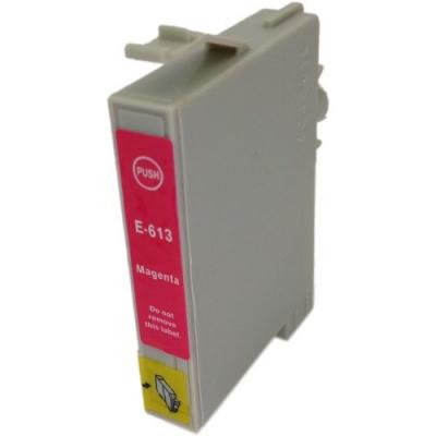 Epson T0613 purpurová (magenta) kompatibilná cartridge