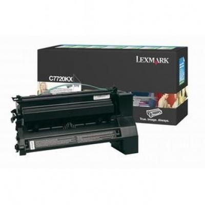 Lexmark C7720KX čierný (black) originálny toner