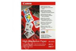 Canon High Resolution Paper, foto papír, speciálně vyhlazený, bílý, A4, 106 g/m2, 200 ks, HR-