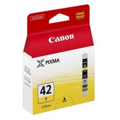 Canon CLI-42Y žlutá (yellow) originální cartridge