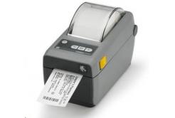 Zebra ZD410 ZD41022-D0E000EZ tlačiareň etikiet, 8 dots/mm (203 dpi), MS, RTC, EPLII, ZPLII, USB, BT (BLE), dark grey