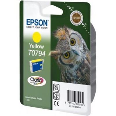 Epson T079440 žltá (yellow) originálna cartridge