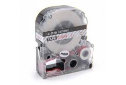 Epson LC-ST6RW, 6mm x 8m, červený tisk / průhledný podklad, kompatibilní páska