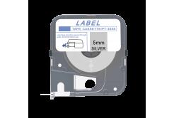 Max LM-305S, 5mm x 8m, stříbrná kompatibilní páska