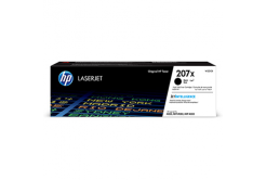 HP originální toner W2210X, black, HP 207X, HP