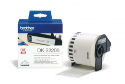 Brother DK-22205, 62mm x 30,48m, originálna papierová role