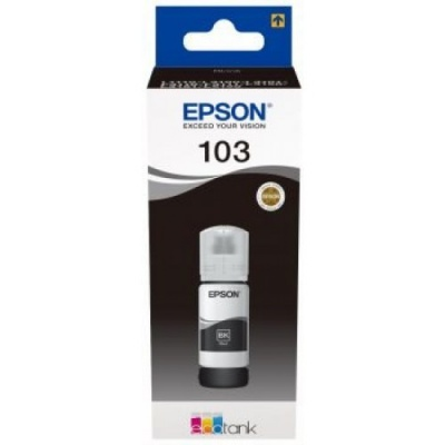 Epson originálna cartridge C13T00S14A, 103, black, 65ml, Epson EcoTank L3151, L3150, L3111, L3110