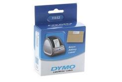 Dymo 11352, S0722520, 54mm x 25mm, bílé papírové štítky pro zpáteční adresu