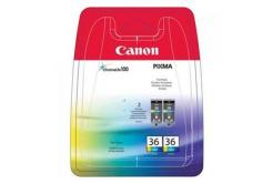 Canon CLI36, 1511B018 barevná (color) dualpack originálna cartridge