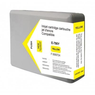 Epson T7904 žltá (yellow) kompatibilna cartridge