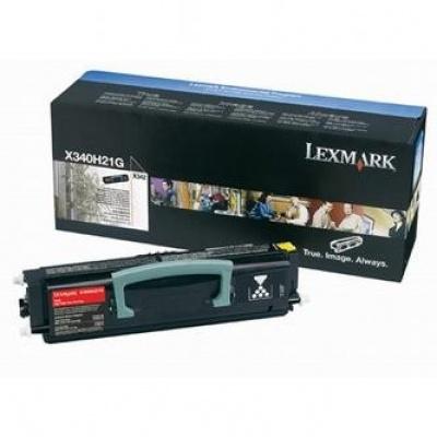 Lexmark X340H21G čierný (black) originálny toner