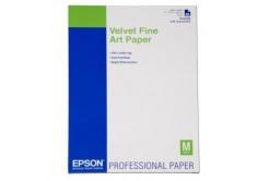 Epson Velvet Fine Art Paper, umělecký papír, sametový, bílý, A2, 260 g/m2, 25 ks, C13S042096,