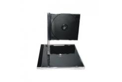 BOX na 1CD čierný tray