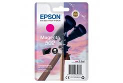 Epson 502 C13T02V34010 purpurová (magenta) originálna cartridge