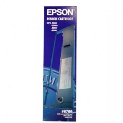 Epson 8766/C13S015055, čierna, originální barvicí páska
