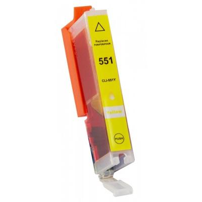 Canon CLI-551XL žltá (yellow) kompatibilná cartridge