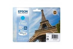 Epson T70224010 azúrová (cyan) originálna cartridge