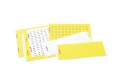 Partex samolepicí štítky PFA20018KT4, 9,5 x 17,5 mm, žluté, 352 ks, A4, 1 list
