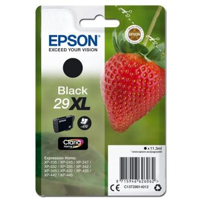 Epson originálna cartridge C13T29914012, T29XL, black, 11,3ml, Epson Expression Home XP-235,XP-332,XP-335,XP-432,XP-435