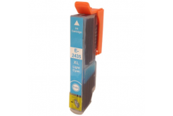 Epson T2435 XL svetle azúrová (light cyan) kompatibilná cartridge